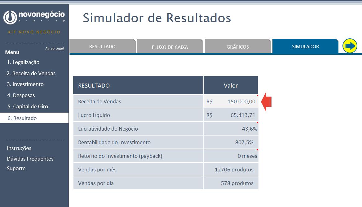 Simulador de Resultados