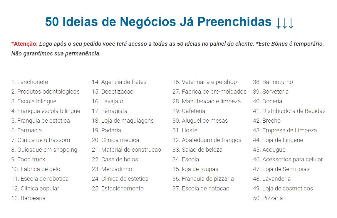 50 Ideias Bônus Prenchidas