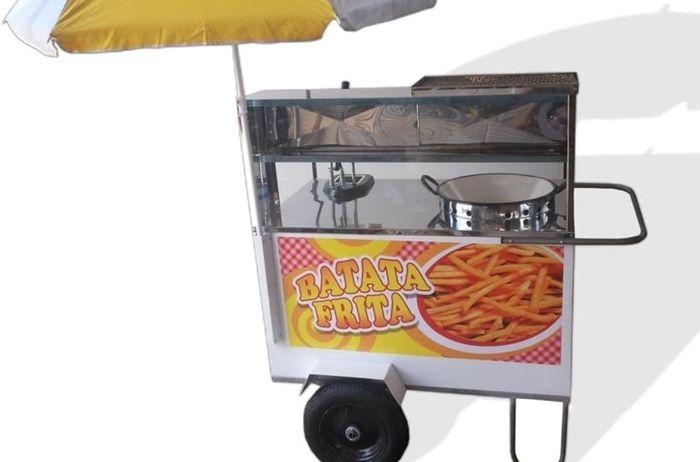 Carrinho de Batata Frita