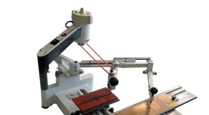 Máquina de Gravar Chaveiros