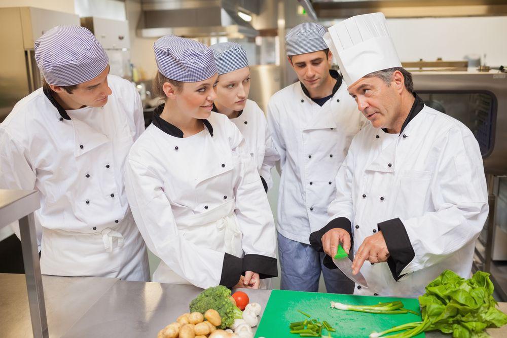 como montar um curso de culinária