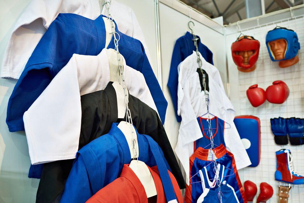 Loja de Produtos Para Lutas e Artes Marciais