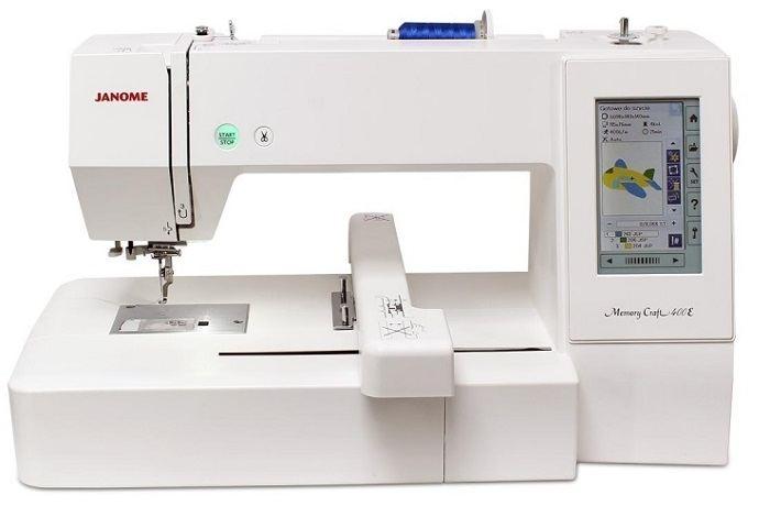 Máquina Janome MC400E