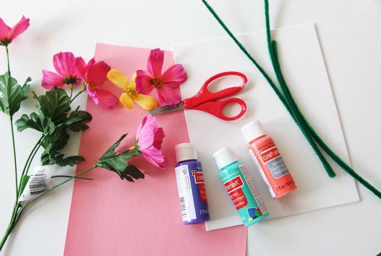 Como Fazer Arranjos de Flores Artificiais Materiais