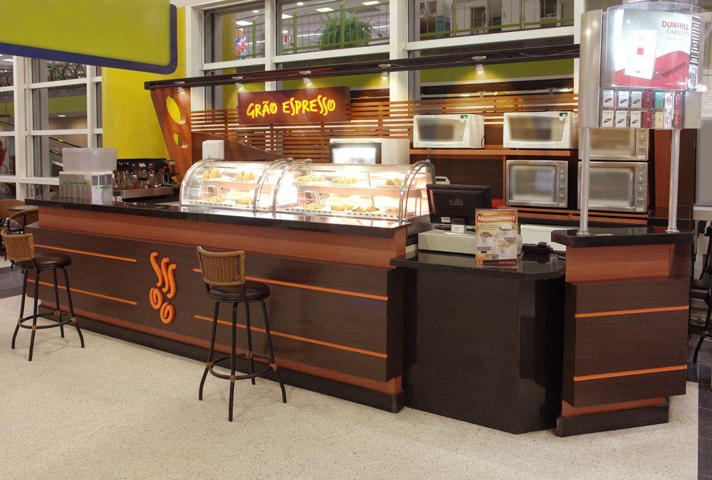 Franquias de Quiosques Grão Espresso Cafeteria