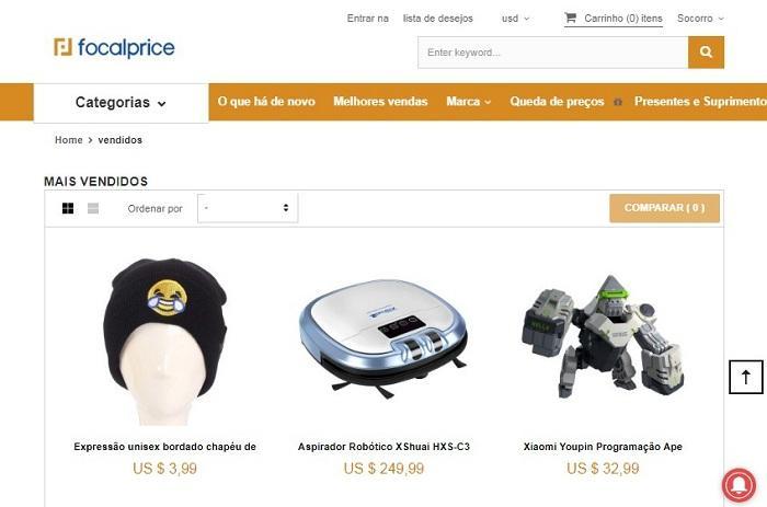 fornecedor produtos imortados focal price