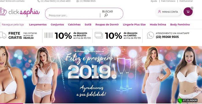 Click Sophia Lingerie Atacado