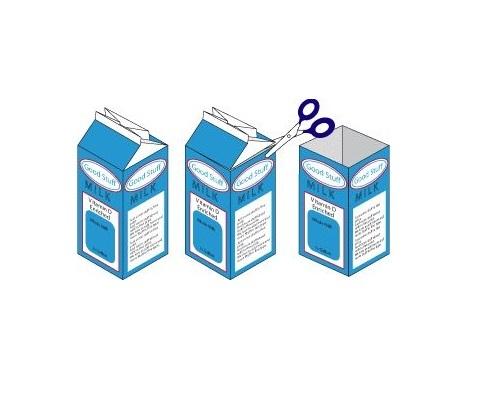 Como Fazer Adesivos de Unhas Com Caixa de Leite