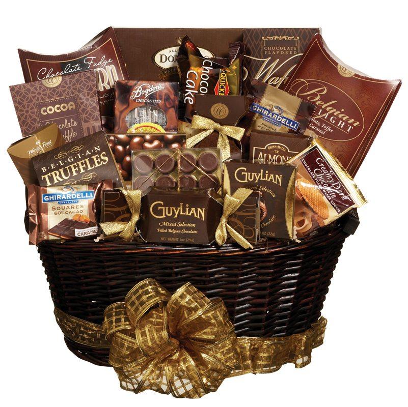 Como montar uma cesta de chocolate
