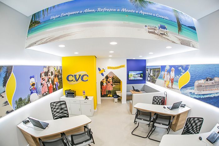 Franquia Agência de Viagens CVC