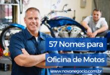 nomes para oficina de motos