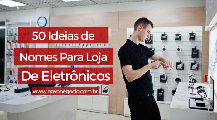 nomes para loja de eletrônicos