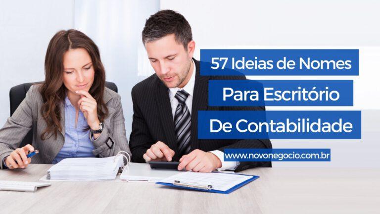 Nomes para Escritório de Contabilidade: Lista com mais de 50 ideias