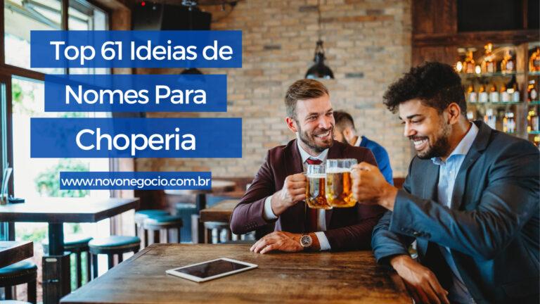 Nomes para Choperia: top 61 ideias para o seu negócio