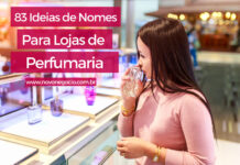 nomes para lojas de perfumaria