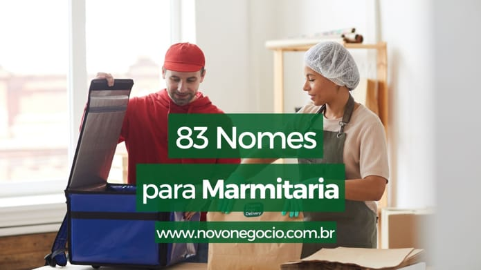 Nomes para marmitaria: 83 ideias para inspirar sua escolha