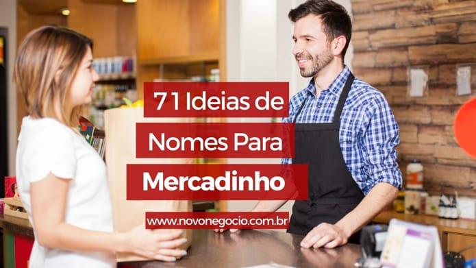 Nomes para Mercadinho: 71 sugestões para o seu negócio